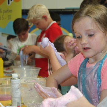 slime lab party